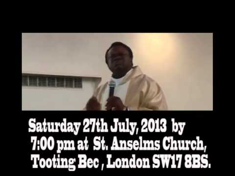 Father Edeh's Last Masses in London
