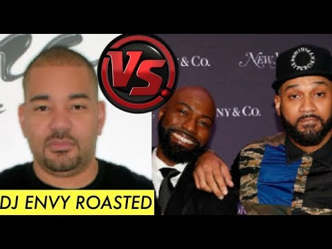Dj Envy GETS ROASTED By Desus And Mero For Him Trying to BE TOUGH with Them on Breakfast CLub