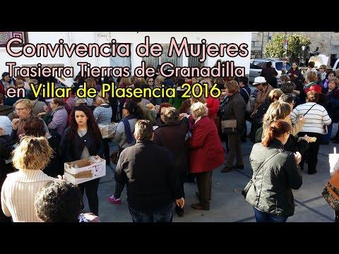 Convivencia de Mujeres. Trasierra Tierras de Granadilla en Villar de Plasencia 2016