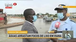 """Chuva em Luanda: """"Balanço provisório"""" uma morte e duas crianças desaparecidas"""