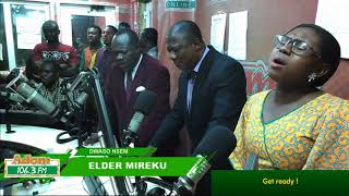 ELDER MIREKU ON DWASO NSEM WITH CAPTAIN SMART On Adom (30 8 18)