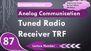 Tuned Radio Frequency Receiver in Analog Communication by Engineering Funda