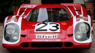 preview picture of video 'RICHARD ATTWOOD & THE LE MANS WINNING NUMBER #23, 917K'