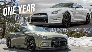 BUILDING AN R35 GTR IN 20 MINUTES | INCREDIBLE CAR BUILD TRANSFORMATION!