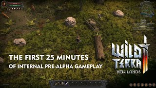27 минут пре-альфы MMORPG Wild Terra 2: New Lands