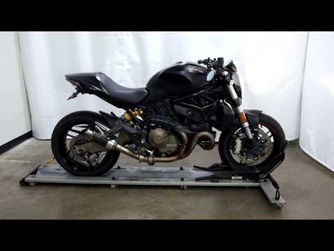 2015 Ducati Monster 821 Dark in Eden Prairie, Minnesota - Video 1