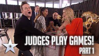 Judges play GAMES! | Part 1 | Britain's Got More Talent