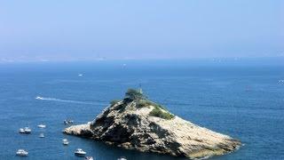 preview picture of video 'ChezKM.com: A l'assaut de l'Ile de l'Elevine avec Passion Plongée Carry HD'