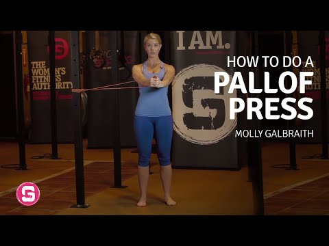 Pallof Press - How To Do Pallof Presses + Variations