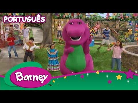 Música Barney É Um Dinossauro (versão de Barney Theme Song)