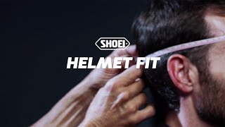 SHOEI Tech Tip - Helmet Fit
