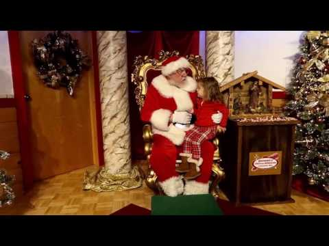 bronners christmas store seeing santa claus mp4