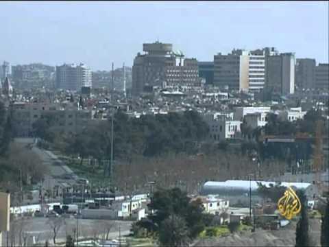 النظام السوري يبدأ بتجريف المناطق الثائرة بـ  دمشق