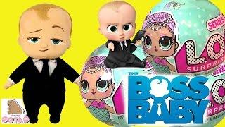 БОСС МОЛОКОСОС 2017 МУЛЬТФИЛЬМ. Игрушки Лол Baby Dolls Куклы Барби #Мультики #Пупсики