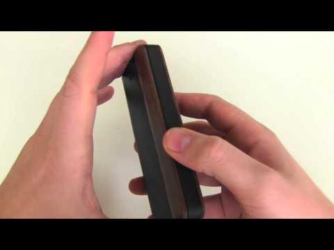 iPhone 5 & 5s Schutzhülle aus Leder und Holz