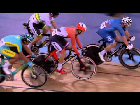 Men's Omnium – Elimination Race – 2016 UCI Track Cycling World Championships