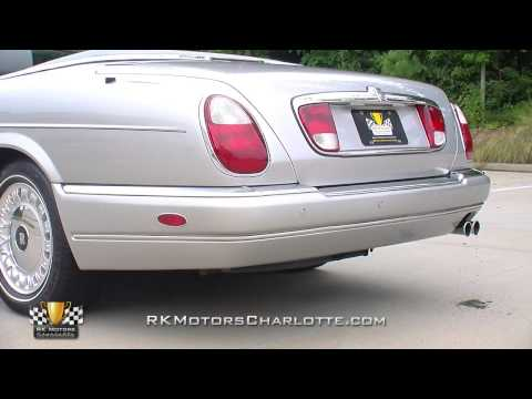2000 Rolls-Royce Corniche Quick Video Tour