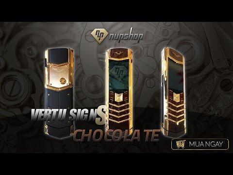 Vertu Sign S Limited Chocolate