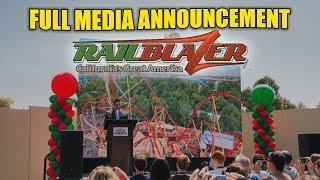 RailBlazer RMC Raptor Full Media Announcement - California's Great America 2018