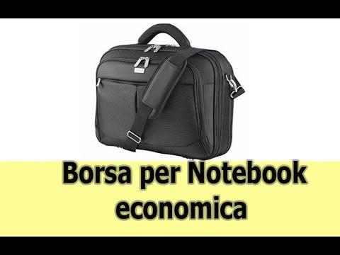Borsa economica  per notebook  Trust Sydney professionale misura 15,6 pollici