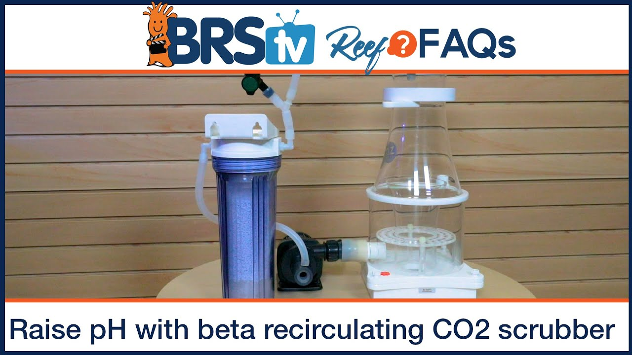How to raise pH in a reef tank with a beta recirculating CO2 scrubber - BRStv Reef FAQs