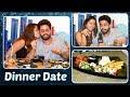 Ridhima Tiwari & Jaskaran Singh ROMANTIC Dinner Da