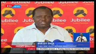 IEBC rubbish claims from Jubilee Secretariat leader Raphael Tuju over BVR kit favoritism toward NASA