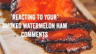 Reacting to Your Smoked Watermelon Ham Comments with Ducks Eatery Owners | Brunch Boys