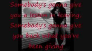 Lesson in Leaving w/ lyrics - Jo Dee Messina