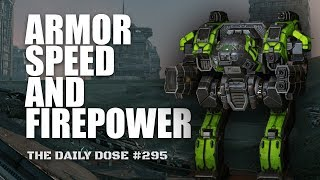 Armor Speed and Firepower. Heavy Medium Laser Linebacker - Mechwarrior Online The Daily Dose #295