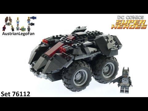 Vidéo LEGO DC Comics Super Heroes 76112 : La Batmobile télécommandée