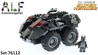 Lego Batman 76112 App Controlled Batmobile - Lego Speed Build Review