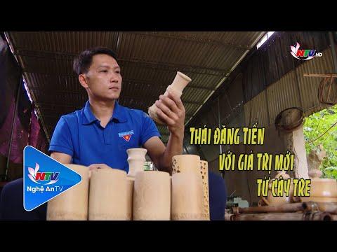 KHỞI NGHIỆP: Thái Đăng Tiến với giá trị mới từ cây tre (NTV)