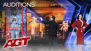 Mysterious Mentalists Reveal Chilling And Unbelievable Predictions - America's Got Talent 2019