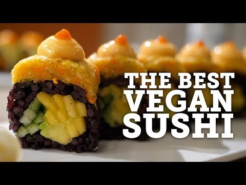 BEST EVER VEGAN SUSHI?! | BEYOND SUSHI REVIEW