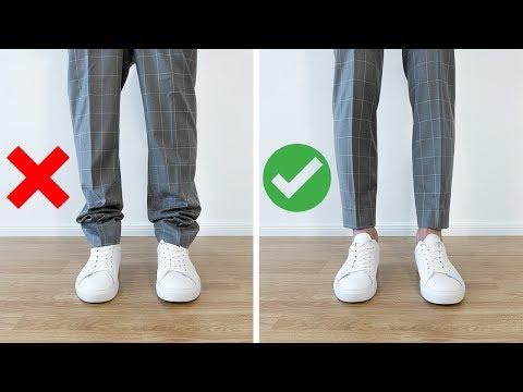 STYLINGTIPPS für MÄNNER ● Wie lang sollte meine Hose sein?