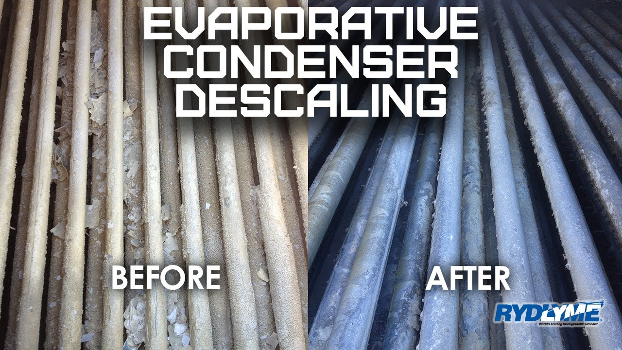 RYDLYME Biodegradable Descaler - Evaporative Condenser Descaling