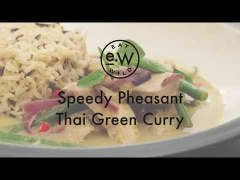 Speedy Thai Green Pheasant Curry
