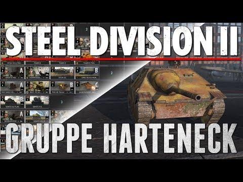 GRUPPE HARTENECK - Steel Division 2 - Beta Battlegroup Review