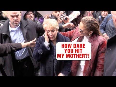 Jennifer Lopez's Mother HIT BY FAN, Actress Shouts in Anger