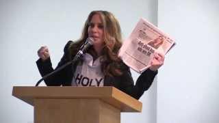 Pamela Geller Speaks at Brooklyn College, Speech, Q&A