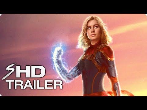 CAPTAIN MARVEL Teaser Trailer (2019) Brie Larson Marvel Movie [HD] Concept