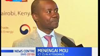 CS Mucheru weighs on the Menengai MoU with Korean Government