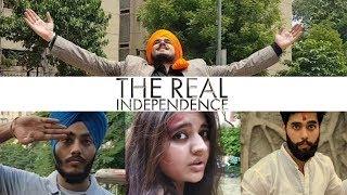 The Real Independence | Bhagat Singh | Mera Bharat Mahan | Independence Day - Parminder Singh
