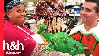 Los pasteles más grandes de la temporada | Cake Boss | Discovery H&H