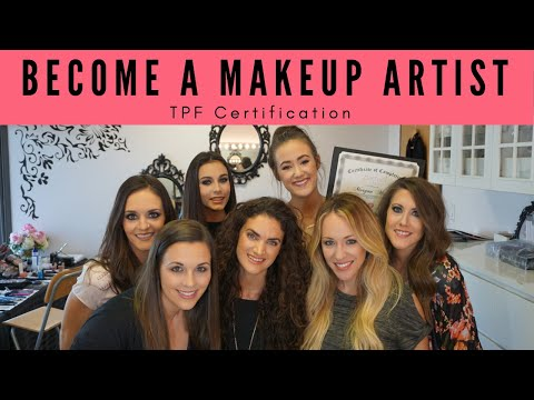 Become A Makeup Artist with TPF Certification Course - YouTube