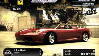 How To Unlock Cars In Nfs Most Wanted