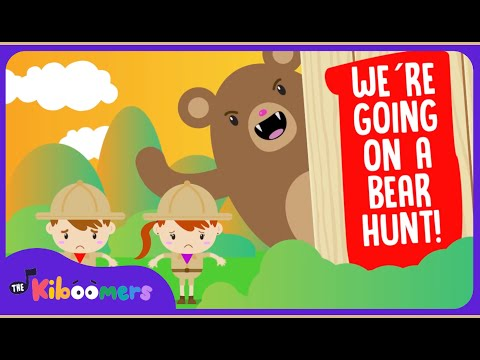 We're Going on a Bear Hunt | Popular Song for Preschoolers | The Kiboomers