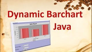 How to make dynamic bar chart in java using JFreeChart