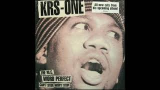 KRS One – Word Perfect [Instrumental For Freestyle]